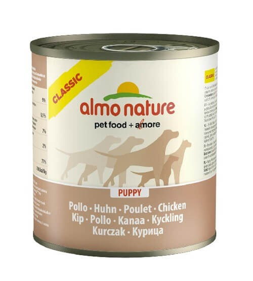 Almo Nature Chien Classic Puppy Poulet 12 x 280 grs