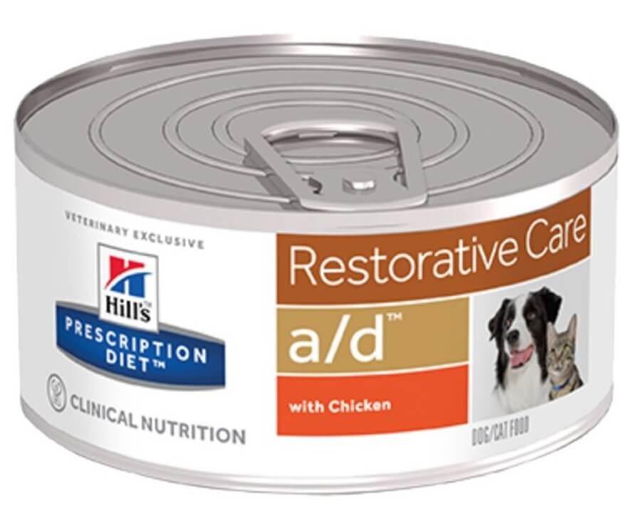 Hill's Prescription Diet Canine/Feline A/D BOITES 24 x 156 grs