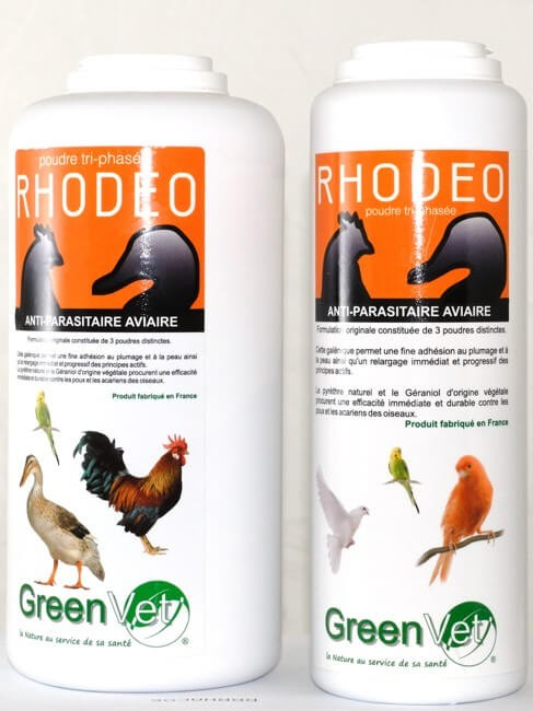 Rhodeo poudre aviaire 250 grs