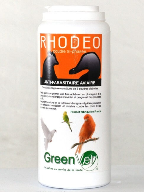 Rhodeo poudre aviaire 125 grs