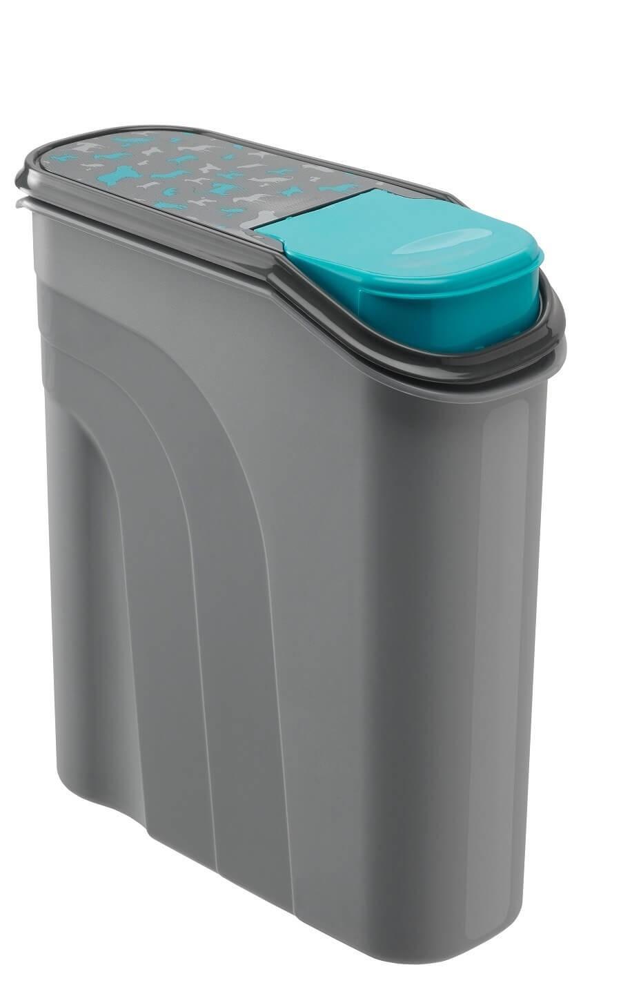 Rotho Pet Food Container Verseur 6 L Gris - La Compagnie des Animaux
