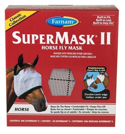 Farnam SUPERMASK II HORSE couleurs assorties