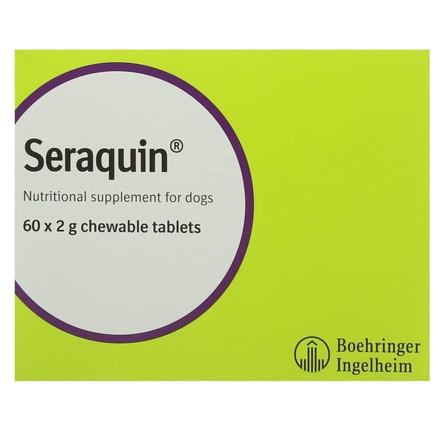 Seraquin Chien 60 cps - La compagnie des animaux