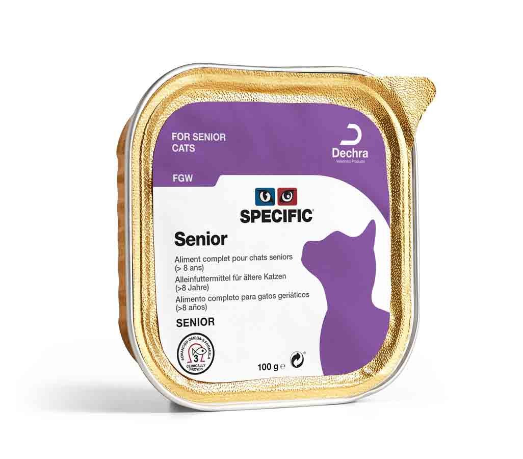 Specific Chat FGW Senior 7 x 100 grs- La Compagnie des Animaux