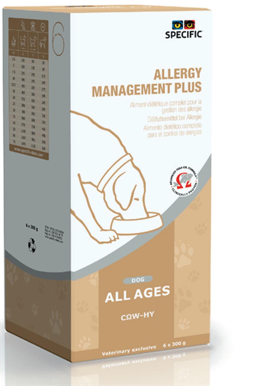 Specific COW-HY Allergy Management Plus Chien 6x300g - La Compagnie des Animaux