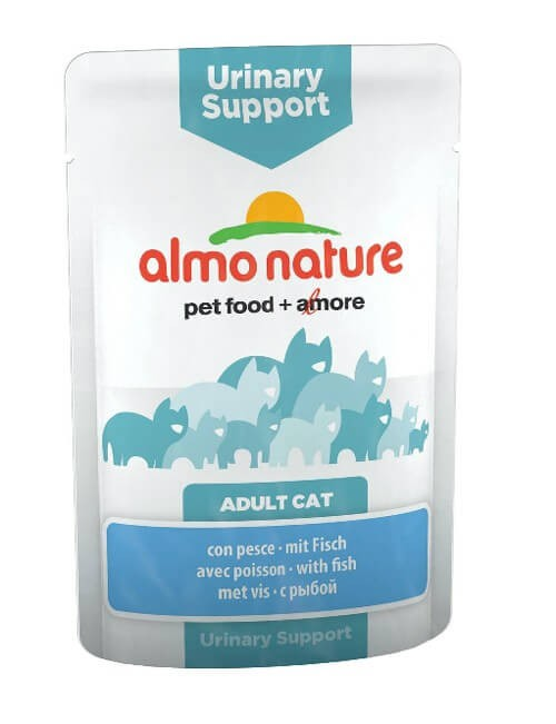 Almo Nature Chat Urinary Support Poisson 30 x 70 grs