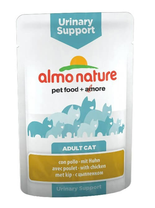 Almo Nature Chat Urinary Support Poulet 30 x 70 grs
