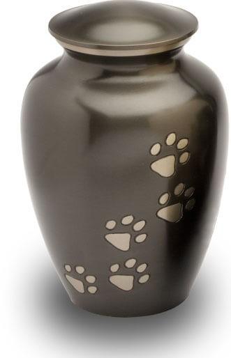Urne funéraire Lotus II en cuivre pour animal de moins de 15kg
