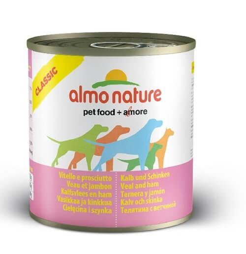 Almo Nature Chien Classic Veau et jambon 12 x 280 grs