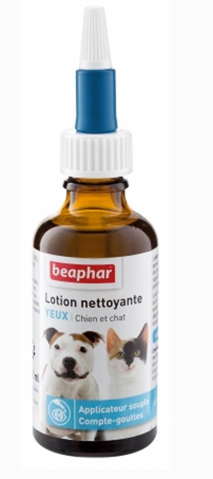 Beaphar Lotion nettoyante yeux 50 ml