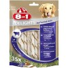 8in1 Twisted Sticks Beef XS pour chien x 35