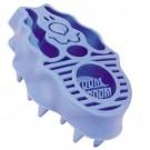 Kong Brosse Zoom Groom bleue pour chien - La Compagnie des Animaux
