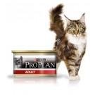 Purina Proplan Cat Adult Poulet 18 boites de 85 grs + 6 offertes