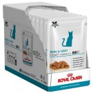 Royal Canin Vet Care Nutrition Cat Skin & Coat Sachet 12 x 100 grs