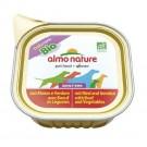 Almo Nature Chien Daily Menu Bio Boeuf et Legumes 9 x 300 grs