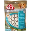 8in1 Twisted Sticks Dental XS pour chien x35- La Compagnie des Animaux