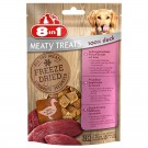 8in1 Freeze Dried Meaty Treats 100 % poitrine de canard pour chien 50 g