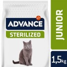 Advance Young Sterilized au poulet Chat 1,5 kg- La Compagnie des Animaux