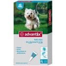 Advantix petit chien (4-10 kg) - 4 pipettes- La Compagnie des Animaux