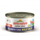 Almo Nature Chat HFC Wild Taste Jelly Yellowfin Thon 24 x 70 g- La Compagnie des Animaux