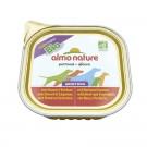 Almo Nature Chien Daily Menu Bio Veau et Legumes 32 x 100 grs - La compagnie des animaux