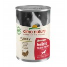 Almo Nature Chien Holistic Single Protein Digestion à la dinde 24 x 400 g