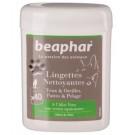 Beaphar 40 Lingettes Nettoyantes pour chien et chat - La Compagnie des Animaux