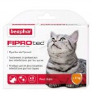 Beaphar Fiprotec chat 3 pipettes- La Compagnie des Animaux