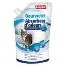 Beaphar granulés absorbeurs d'odeurs pour litière 400 grs- La Compagnie des Animaux