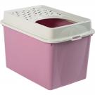 Berty Cat Toilet Top Rotho Mypet Rose - La Compagnie des Animaux