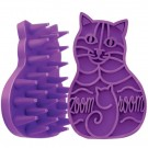 Kong Brosse Cat Zoom Groom violette pour chat