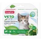 Antiparasitaire pour chaton sous forme de pipettes Vetopure