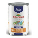 Almo Nature Chien Single Protein Poulet 24 x 400 grs