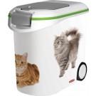Container à croquettes 12 kg Curver modèle chat- La Compagnie des Animaux