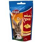 Trixie pastilles vitaminées lait/miel 75 grs