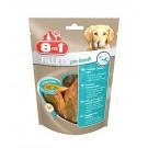 8in1 Fillets Pro Dental pour chien 80 g MULTIPACK lot de 8