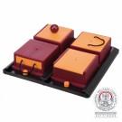 Dog Activity Poker Box 1 rouge/jaune - La Compagnie des Animaux