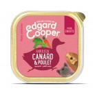 Edgard & Cooper Barquette Poulet & Canard Chiot 11 x 150 g- La Compagnie des Animaux