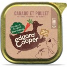 Edgard & Cooper Barquette Poulet & Canard pour chien adulte 11 x 150 g