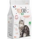 Felichef croquettes BIO chat senior 2 kg- La Compagnie des Animaux