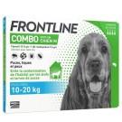 Frontline Combo Chien 10-20 kg 4 pipettes- La Compagnie des Animaux