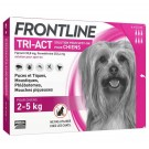 Frontline Tri Act spot on chiens 2 - 5 kg 6 pipettes- La Compagnie des Animaux