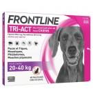 Frontline Tri Act spot on chiens 20 - 40 kg 3 pipettes- La Compagnie des Animaux