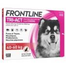 Frontline Tri Act spot on chiens 40 - 60 kg 3 pipettes- La Compagnie des Animaux
