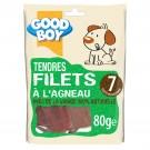 Good Boy Filets à l'Agneau 80 grs - La Compagnie des Animaux