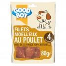 Good Boy Filets au Poulet 80 grs - La Compagnie des Animaux