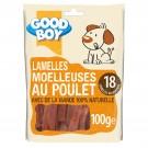 Good Boy Lamelles au Poulet 100 grs - La Compagnie des Animaux