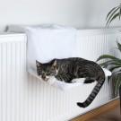 Trixie Hamac Lit radiateur en peluche pour chat