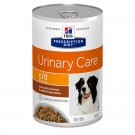 Hill's Prescription Diet Canine C/D Urinary Care mijotés au poulet 12 x 354 grs- La Compagnie des Animaux