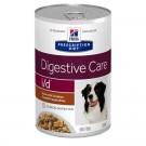 Hill's Prescription Diet Canine I/D mijotés au poulet 12 x 354 grs- La Compagnie des Animaux